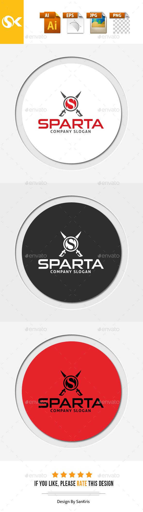 GraphicRiver Sparta S Letter Logo Template 11907543