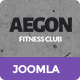 Aegon | Responsive Gym / Fitness Club Template - ThemeForest Item for Sale