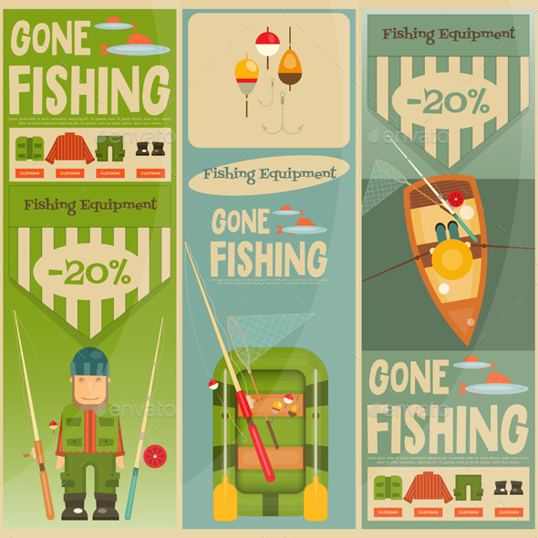 GraphicRiver Fishing 11908860