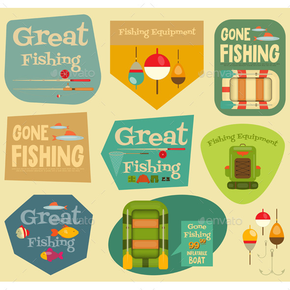 GraphicRiver Fishing 11908864