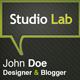 StudioLab Bussiness Card - GraphicRiver Item for Sale
