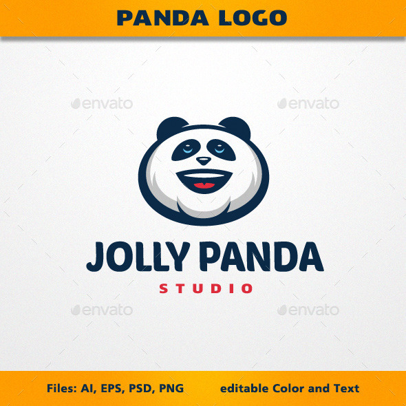 GraphicRiver Jolly Panda Logo 11908447