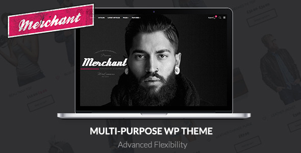 Merchant – Responsive WordPress Theme (WooCommerce) Download
