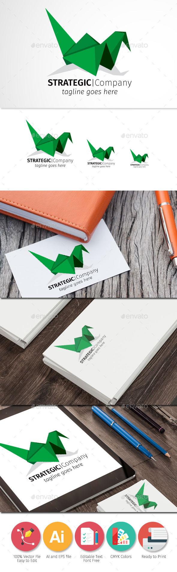 GraphicRiver Strategic Company Origami 11908746