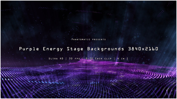 Purple Energy Stage