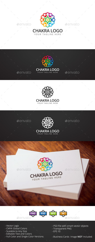 GraphicRiver Chakra Logo 11911420