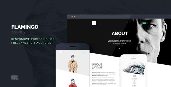 Flamingo - Agency & Freelance Portfolio Theme - Creative WordPress