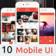 InstaFlat Mobile App UI Kit Design