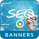 SEO Banners - GraphicRiver Item for Sale