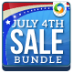 Independence Day Banners Bundle - 3 Sets - GraphicRiver Item for Sale