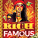 Rich and Famous Party Flyer - GraphicRiver Item for Sale