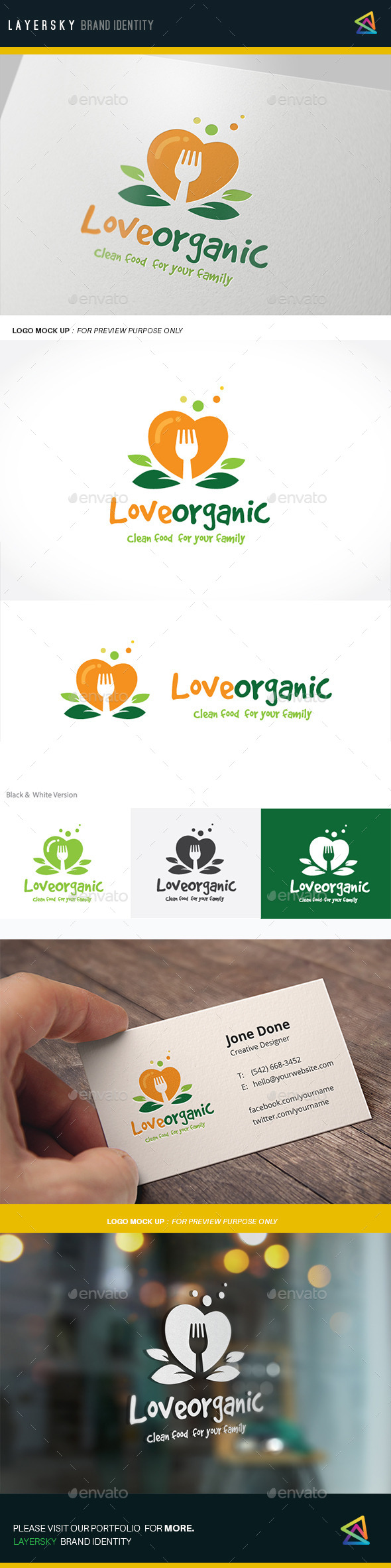 GraphicRiver Love Organic 11912897