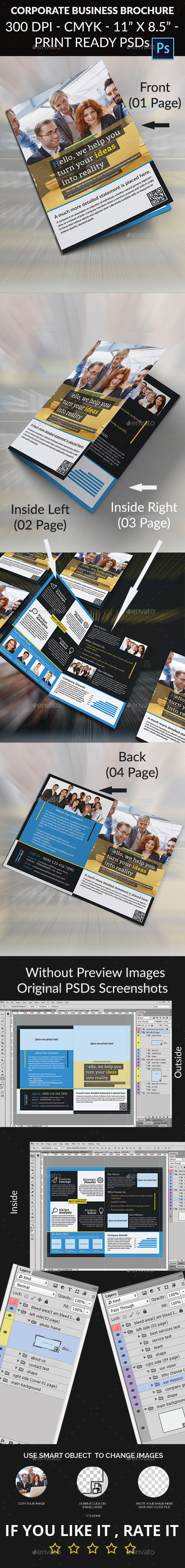 GraphicRiver Corporate Business Brochure 11890486