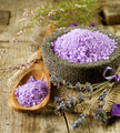 Spa Lavender Salt. Aromatherapy - PhotoDune Item for Sale