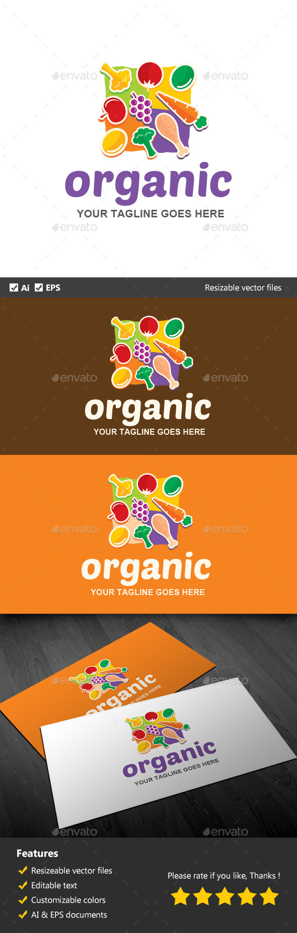 GraphicRiver Organic 11913444