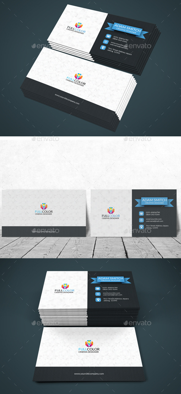 GraphicRiver Business Card Corporate Modern 11913480