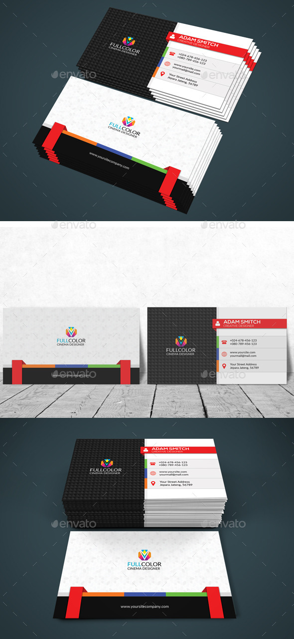 GraphicRiver Modern Corporate Business Card 11913510