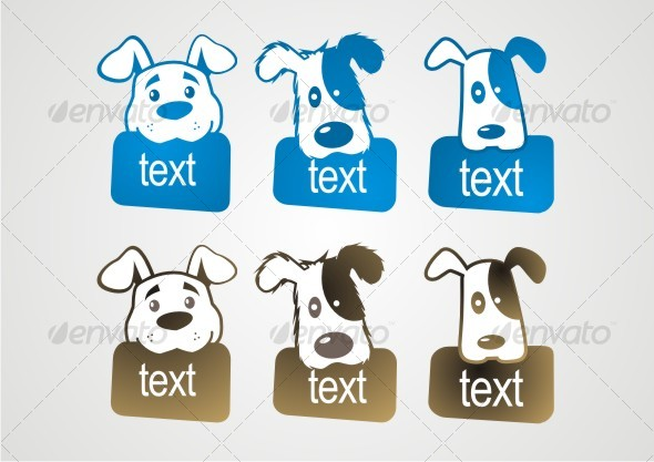 GraphicRiver cute dog 48280