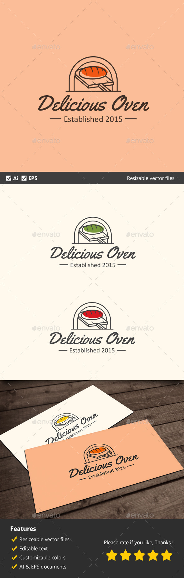 GraphicRiver Delicious Oven 11913580