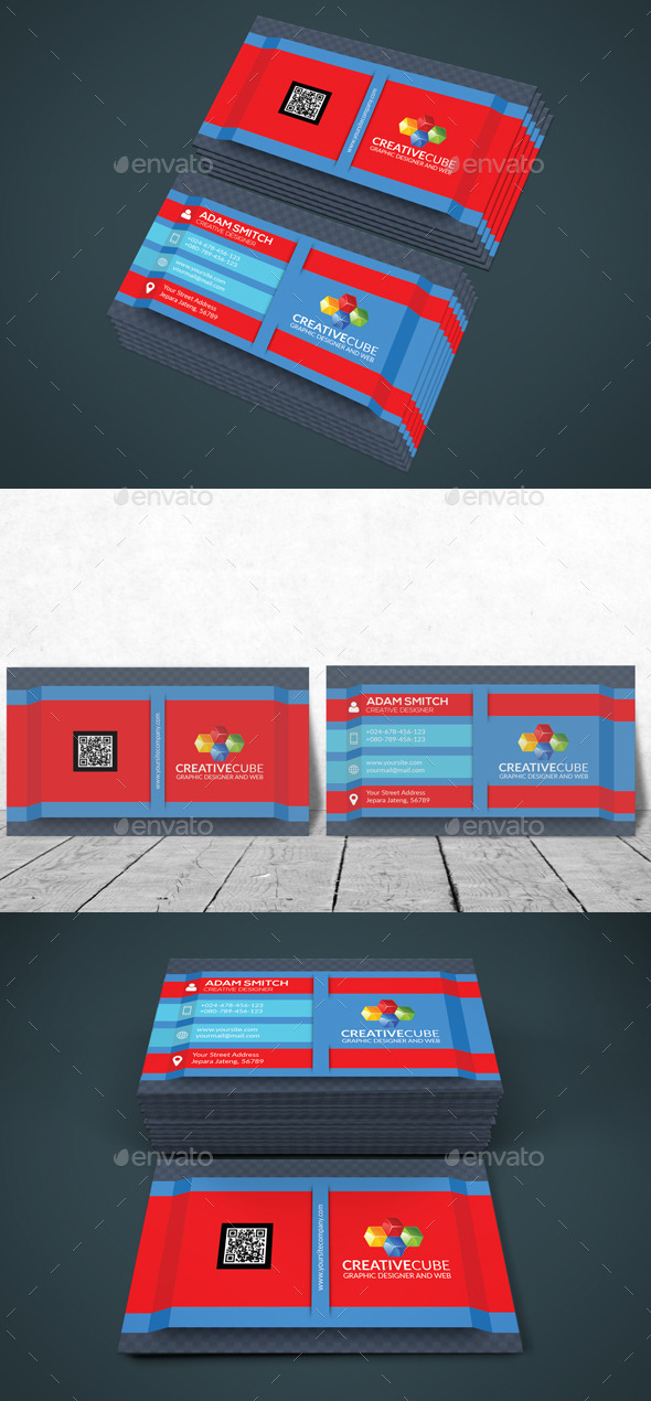 GraphicRiver Modern Business Card 11913585