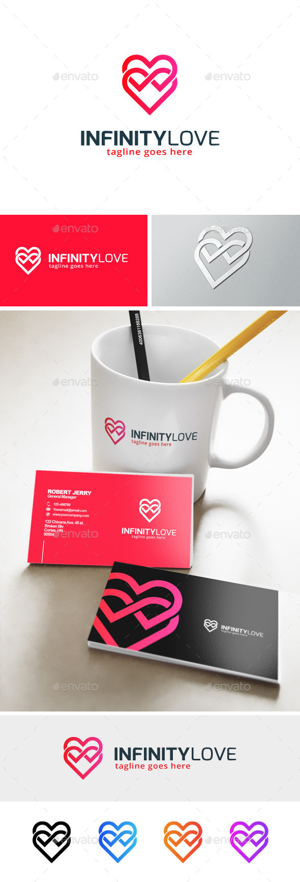 GraphicRiver Infinity Love Logo 11913728