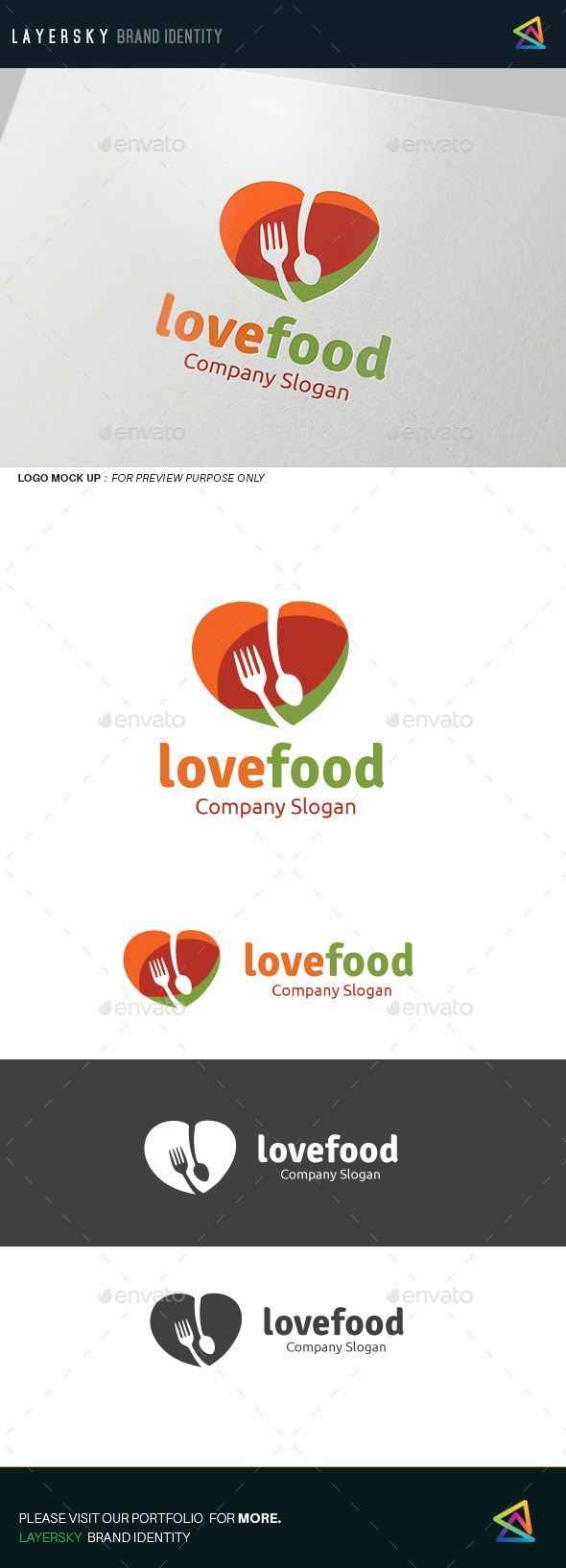 GraphicRiver Love Food 11914899
