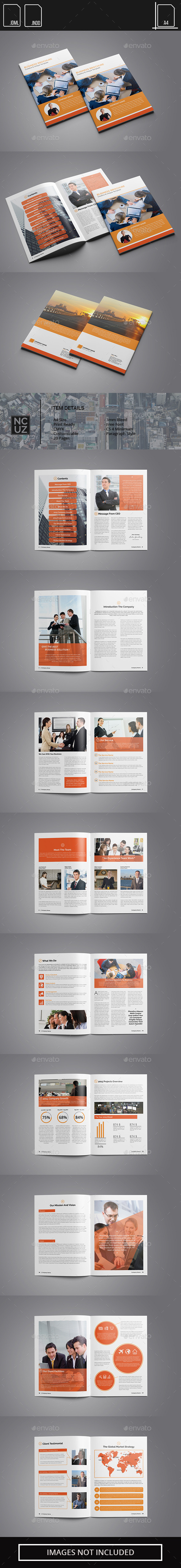 GraphicRiver Brochure Corporate Company 11912353