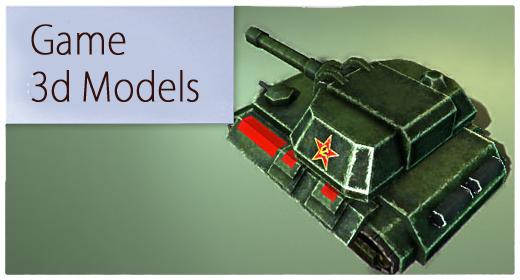 Game 3d models
