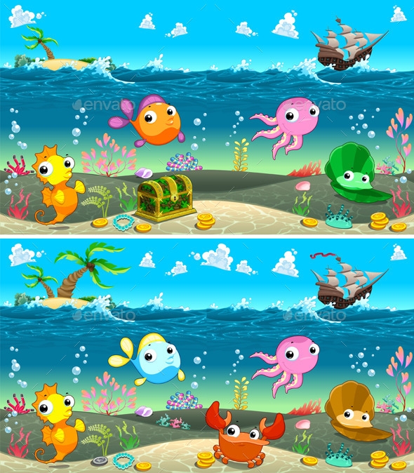 GraphicRiver Spot the Differences 11916113