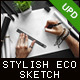 Stylish and Organic Sketch Mock-Up - GraphicRiver Item for Sale
