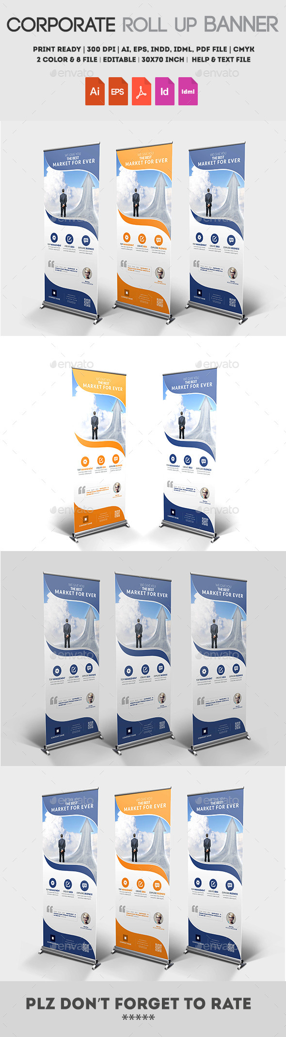 GraphicRiver Multipurpose Roll up Banner 11916440