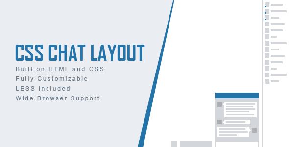 CodeCanyon CSS Chat Layout 11863205