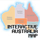 Interactive Australia Map - ActiveDen Item for Sale