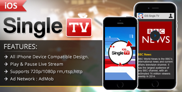 CodeCanyon iOS Single TV 11917500