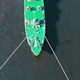 Aerial View Warship Moored on Buoys - VideoHive Item for Sale