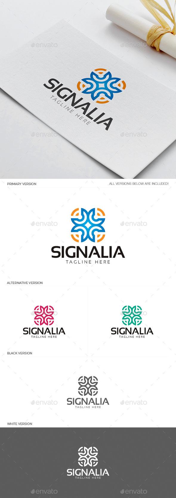 GraphicRiver Signalia Logo 11918238