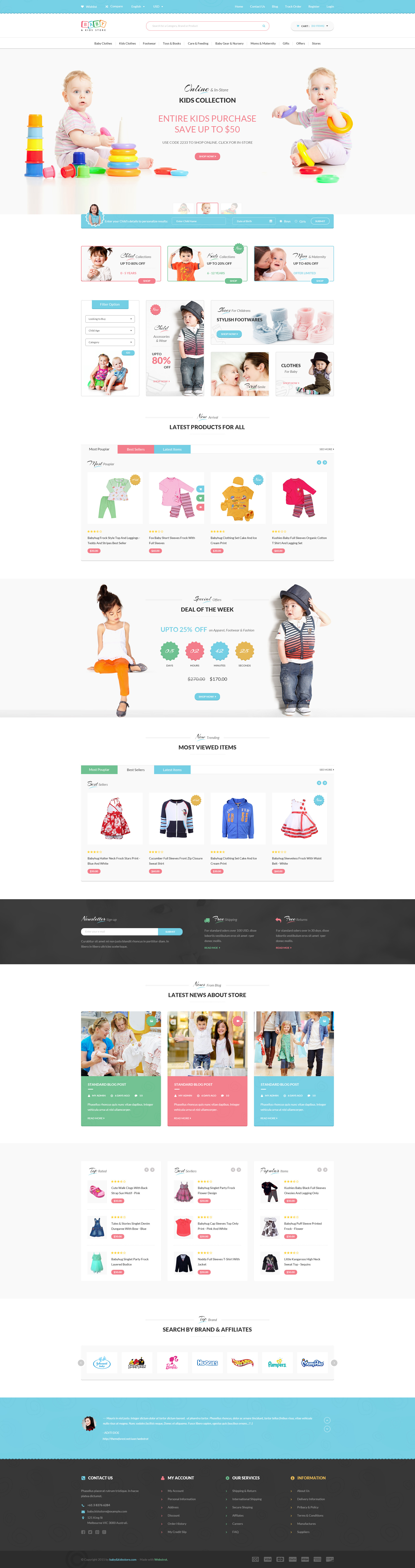 Cute 1 Year Experience Resume Format For Java Developer Thin 100th Day Hat Template Clean 12 Team Schedule Template 15 Year Old Resume Youthful 1st Job Resume Objective Dark2014 Yearly Calendar Template Baby \u0026 Kids Store ECommerce PSD Template By Webstrot | ThemeForest