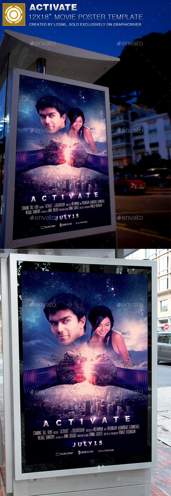 GraphicRiver Activate Movie Poster Template 11911051