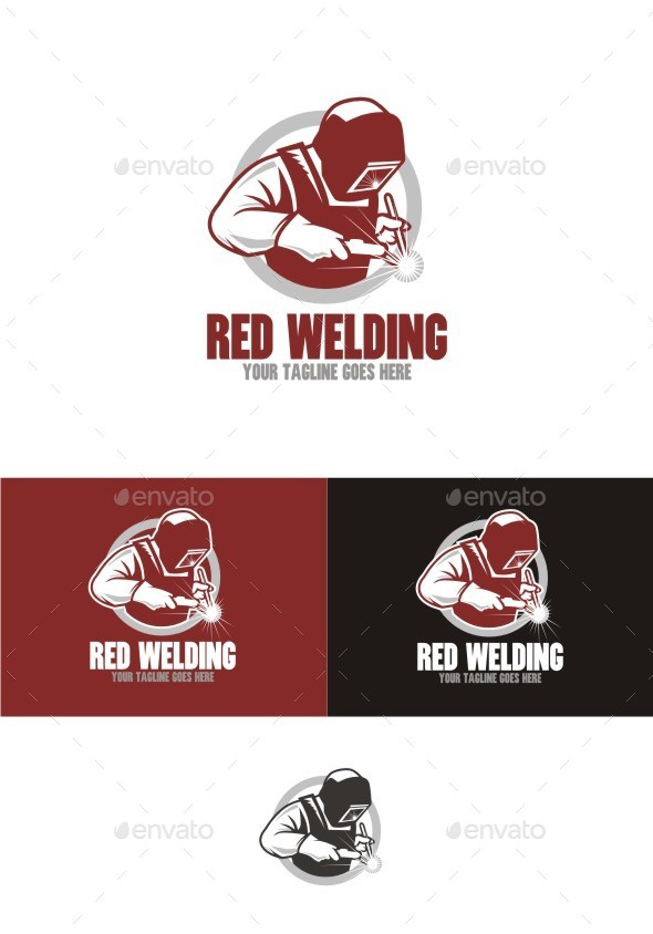 GraphicRiver Red Welding 11895811