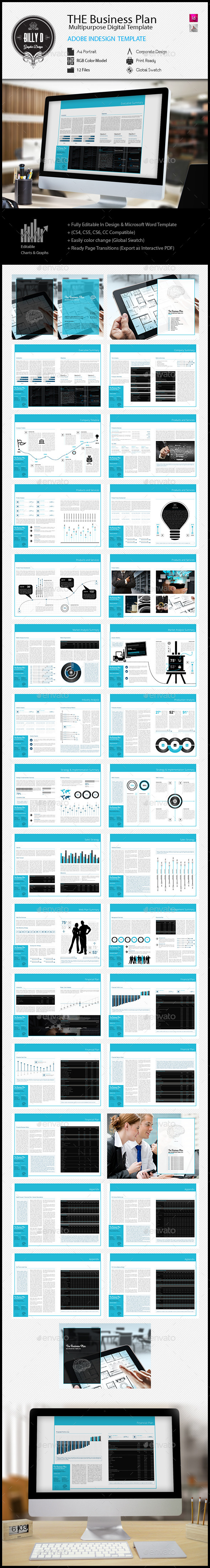 GraphicRiver THE Business Plan Multipurpose Digital Template 11918802