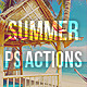 Summer Tastes - PS Actions - GraphicRiver Item for Sale