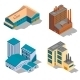 Isometric Factory and Industrial Buildings Set - GraphicRiver Item for Sale