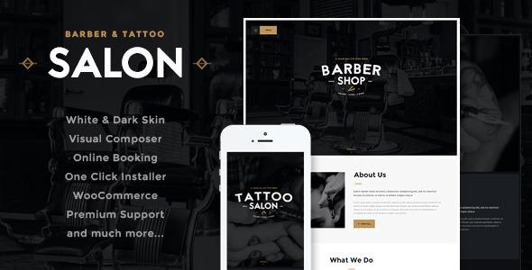The Barber | Hair & Beard Salon WordPress Theme