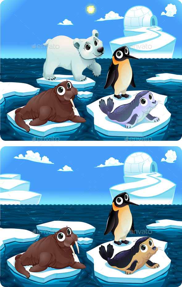 GraphicRiver Spot the Differences 11920026