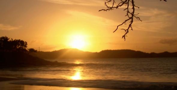 Sunset Timelapse hd