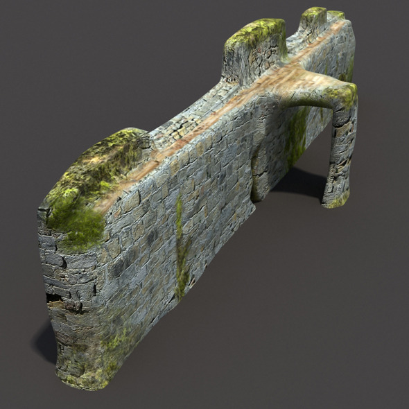 English Castle Ruin #2 - 3DOcean Item for Sale