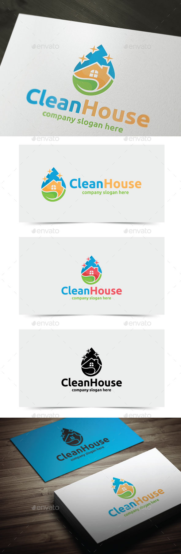 GraphicRiver Clean House 11920700