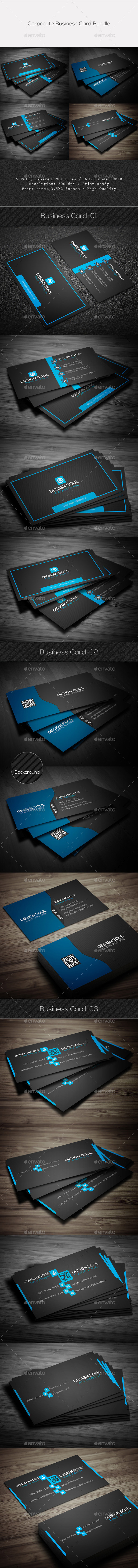 GraphicRiver Corporate Business Card Bundle 11920707