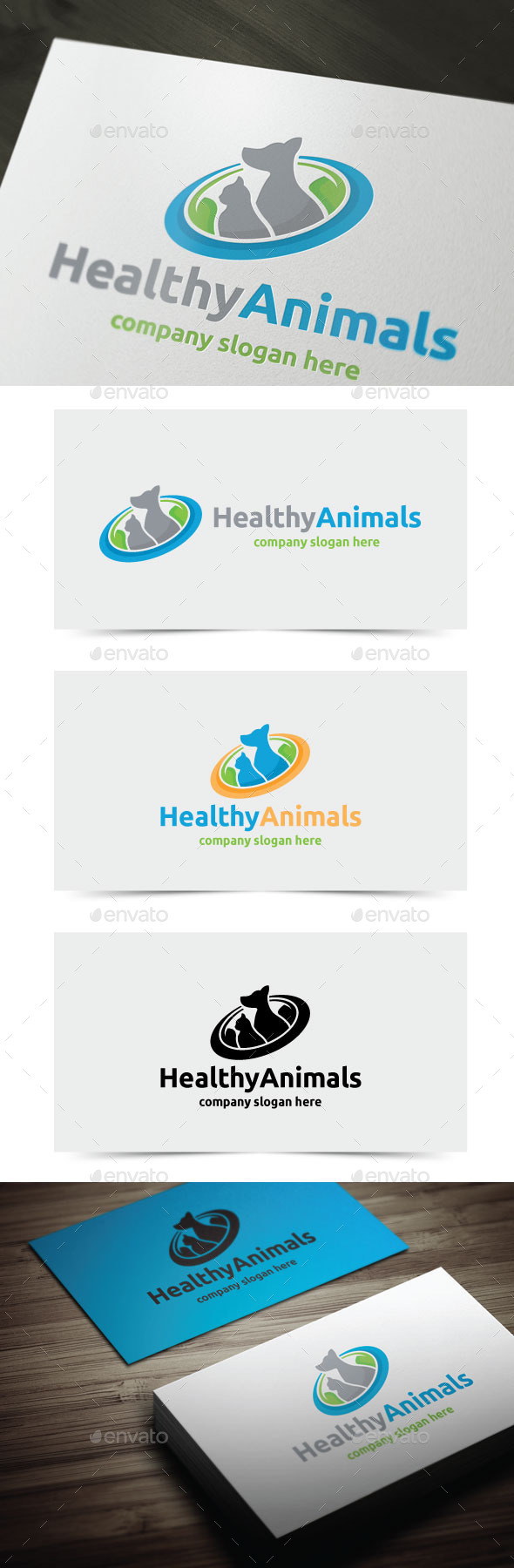 GraphicRiver Healthy Animals 11920755