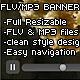 FLV / MP3 – PLAYER / BANNER / ROTATOR - ActiveDen Item for Sale
